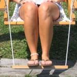 Single Swing Footrest