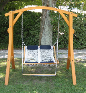 Roman Arc Swing Stand Outer Banks Hammocks