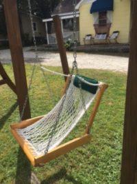 Single Rope Porch Swing